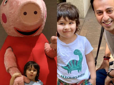 Pics: Taimur is a fan of Peppa Pig's George