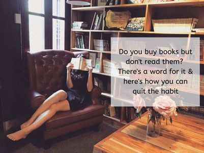 Do you buy books but don't read them?