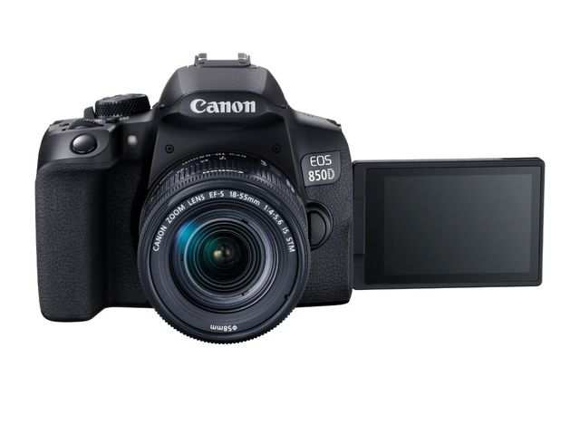 Canon launches EOS 850D camera with 24.1MP dual CMOS sensor and 45 auto focus point