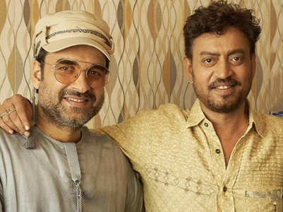 Pankaj shares an unmissable picture with Irrfan