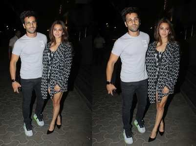 Pics: Pulkit-Kriti attend 'Thappad' screening