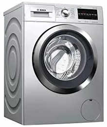 Bosch 7.5 kg Fully Automatic Front Loading Washing Machine (WAT2846LIN, Silver, Inbuilt Heater)