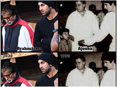 Big B shares a pic with Ranbir & Shashi