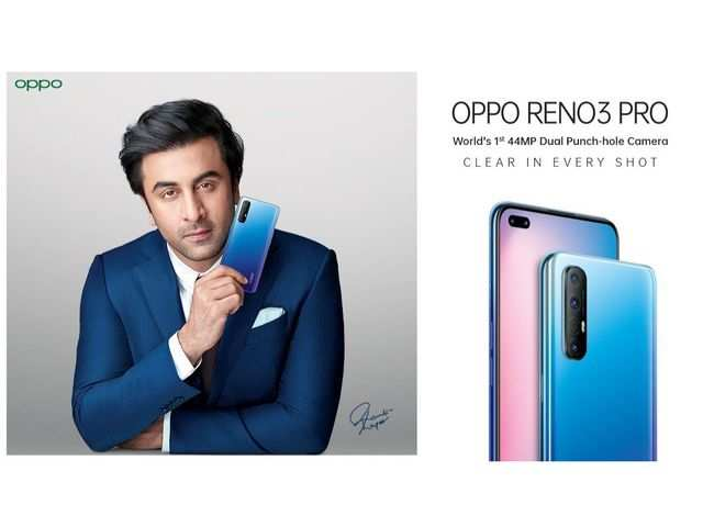 Oppo Reno 3 Pro to feature six cameras, three colour options