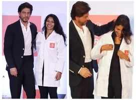 SRK's gesture for a PhD student wins hearts
