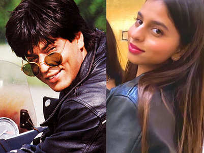 Pic:Suhana can rock a leather jacket like SRK