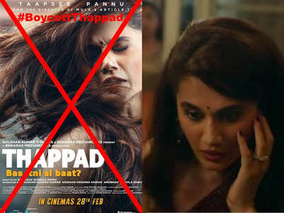 Why #BoycottThappad is trending on Twitter