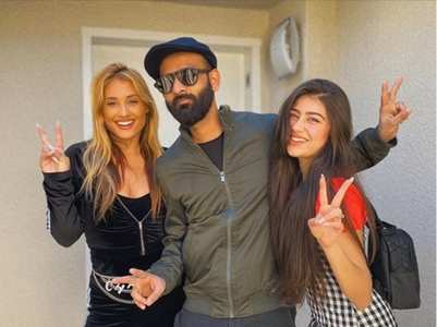 Aditi Bhatia shoots with a famous YouTuber