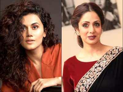 Taapsee Pannu on being compared to Sridevi
