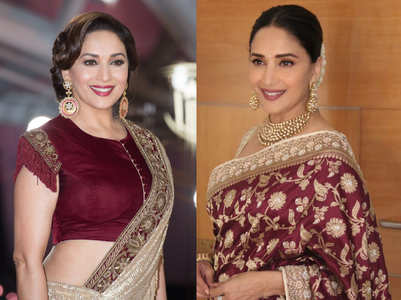 5 Madhuri Dixit outfits that are perfect for the mother of the bride