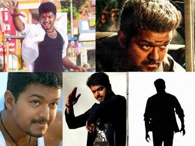 Five mass introduction scenes of Vijay!