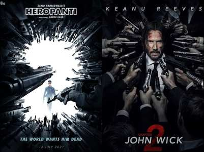 Fans compare Heropanti 2 poster to John Wick