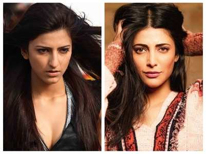 Pics of Shruti Haasan's look transformation