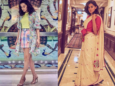 Take fashion inspiration from Taapsee