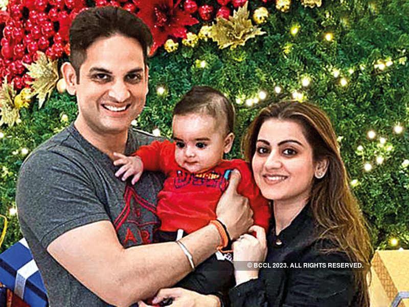 Vikaas and Priyanka Kalantri with Vihaan