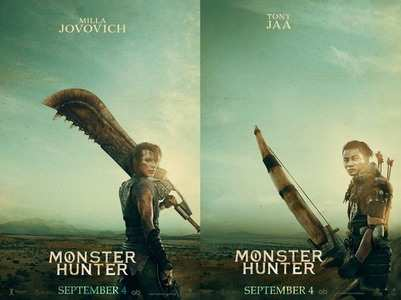 Posters of film 'Monster Hunter' are out!