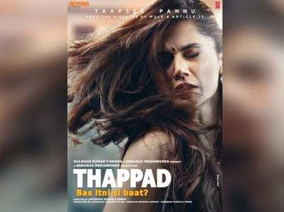 'Thappad' collects Rs 3 crore on its first day