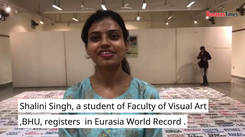 Artist from Banaras registers in Eurasia World Record