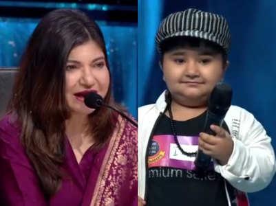 'Sa Re...' contestant teaches Alka to sing