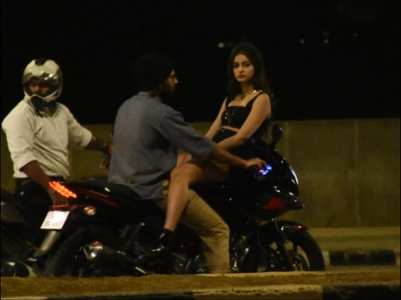 Vijay & Ananya shoot for their next in Mumbai