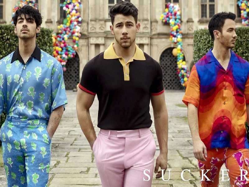 Jonas Brothers celebrate a year of comeback song 'Sucker'