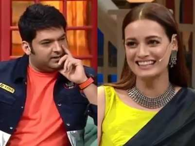 Kapil flirts with Dia, here's how she reacts