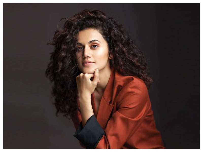 Exclusive! Taapsee Pannu on 'Kabir Singh' and 'Thappad': It's wonderful that two contradicting subjects co-exist in the same industry