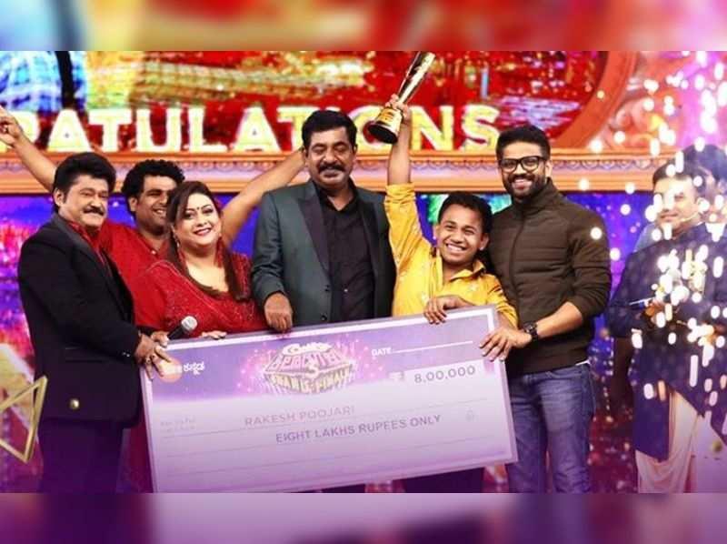 Rakesh Poojary crowned as the winner of Comedy Khiladigalu 3