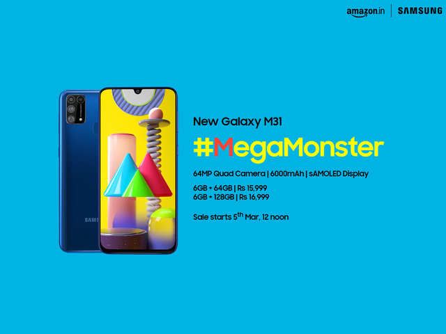Samsung Galaxy M31 #MegaMonster launched: Here's everything you need to know, from 64MP camera to the 6000mAh battery