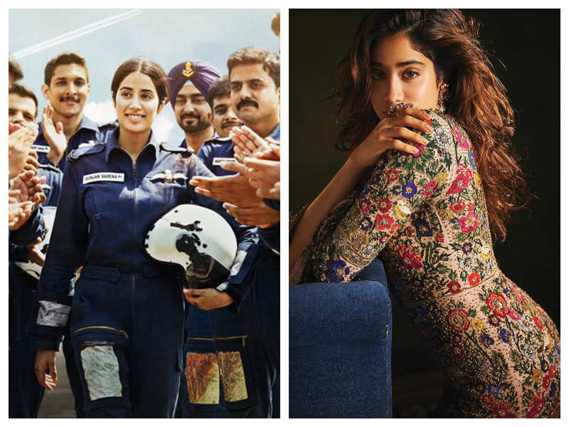 Janhvi Kapoor Feels Gunjan Saxena The Kargil Girl Is Her First Film Know Why Hindi Movie News Times Of India