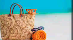 6 Straw bags that are perfect for a beach vacation