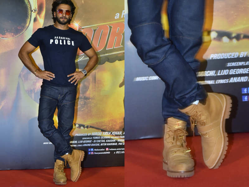 Can you guess the price of Ranveer Singh's super expensive ankle boots?