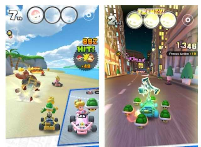 Mario Kart for iOS gets real-time multiplayer mode