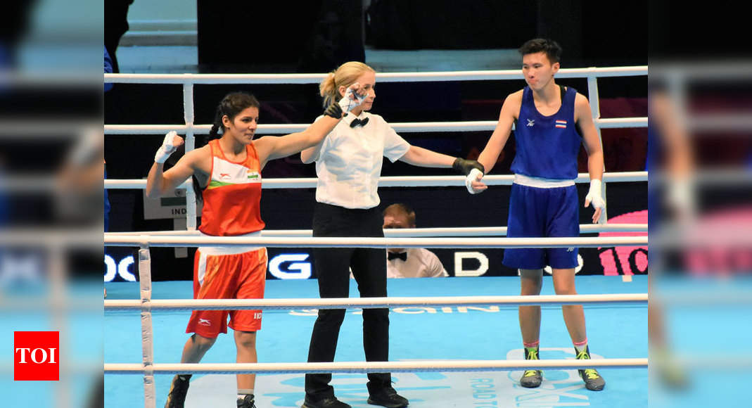 Sakshi Chaudhary advances to quarters of boxing's Asian Olympic Qualifiers | Boxing News