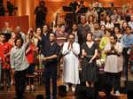Musicians join Ustad Zakir Hussain for peace concert