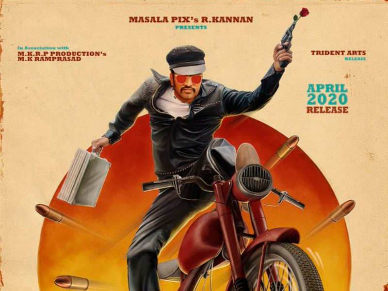 Santhanam reveals the first look poster of Biskoth | Tamil Movie ...