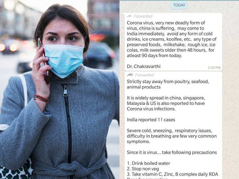 Alert! Do not believe these Coronavirus Whatsapp messages and forwards!