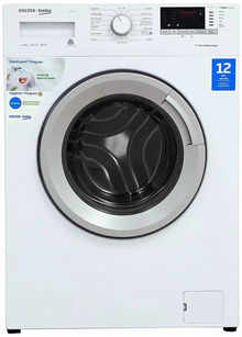 Voltas Beko 6.5 Kg Inverter Fully Automatic Front Loading Washing Machine, Inbuilt Heater, 26 Stain Remover (WFL65W, White)