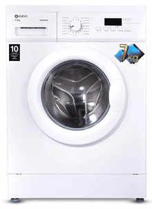 Koryo 7 kg Fully Automatic Front Loading Washing Machine (KWM1272FL, White,inbuilt Heater)