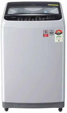 LG 7 Kg Inverter Fully Automatic Top Loading Washing Machine (T70SNSF3Z, Middle Free Silver Colour)