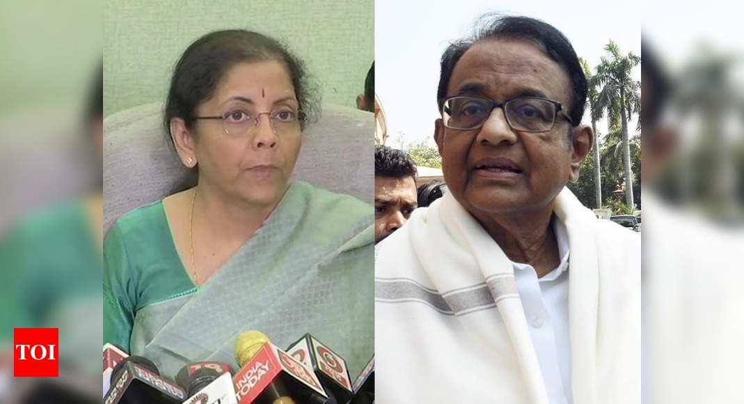 Yes Bank crisis: Sitharaman blames stressed loans under UPA; Chidambaram hits back thumbnail