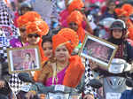 Bike rally held in Pune on Women's Day
