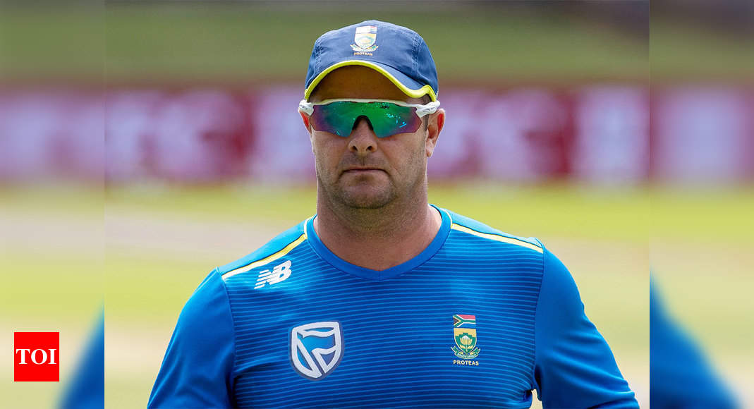 Coronavirus: игроки SA, вероятно, избегают обычных рукопожатий, говорит Марк Баучер | Крикет Новости