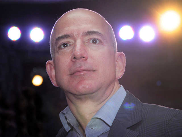 Amazon founder Jeff Bezos (File photo)
