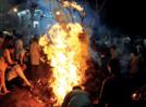 Aurangabadkars marked Holi festivities with Holika Dahan