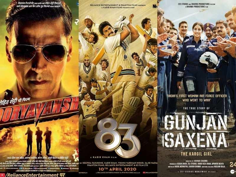 Covid 19 Scare Sooryavanshi 83 And Gunjan Saxena The Kargil Girl S Release Dates To Be Postponed Hindi Movie News Times Of India