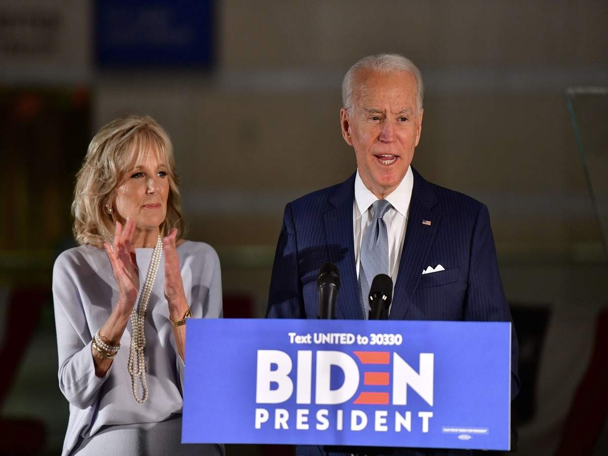Joe Biden: senator, vice president, now on brink of White House run - Times of India