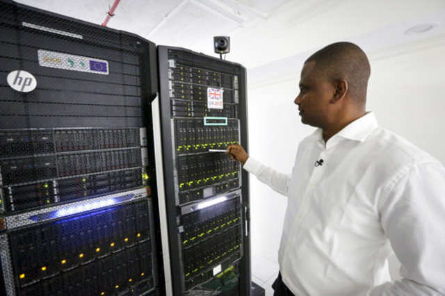 How a supercomputer is helping save crops