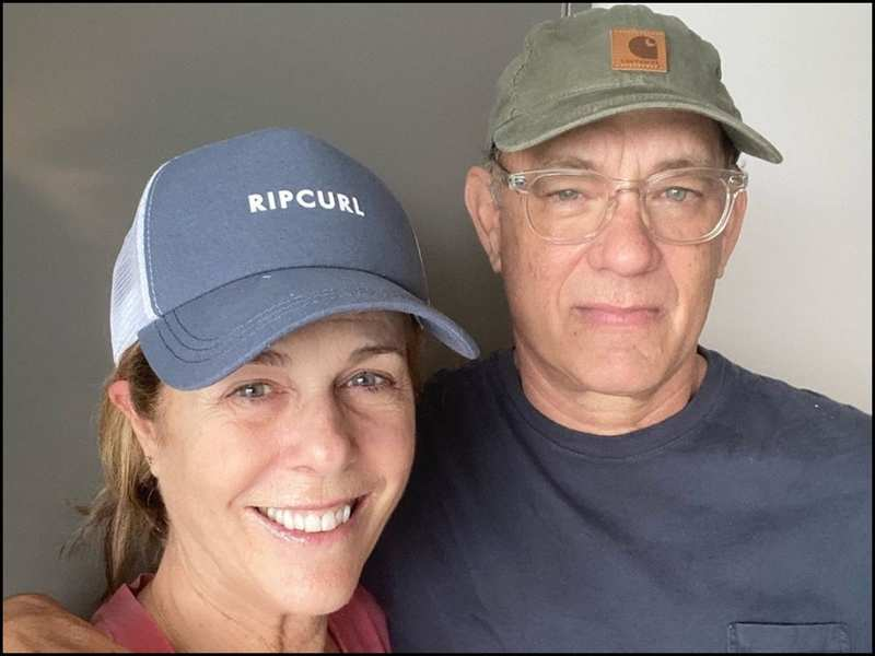Tom Hanks updates fans with a new picture with Rita Wilson post Coronavirus diagnosis, thanks health staff for 'taking such good care' | English Movie News - Times of India