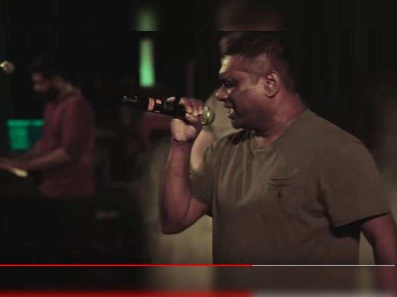 Anandraj Benjamin Paul's powerful rendition for Thaikkudam Bridge's Namah album
